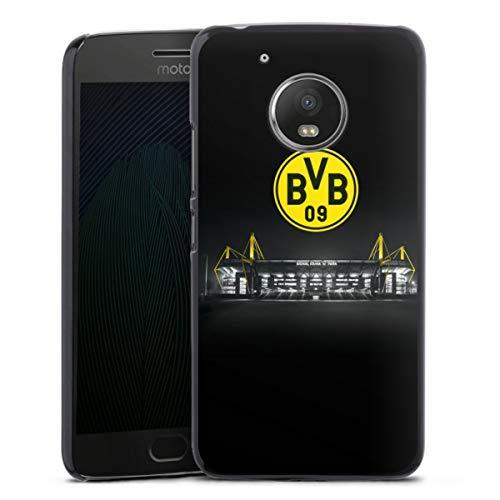 DeinDesign Hard Hülle kompatibel mit Motorola Moto G5 Schutzhülle schwarz Smartphone Backcover BVB Stadion Borussia Dortm&