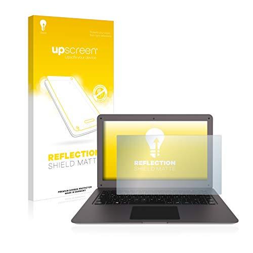 upscreen Entspiegelungs-Schutzfolie kompatibel mit TrekStor Surfbook W2 – Anti-Reflex Bildschirmschutz-Folie Matt