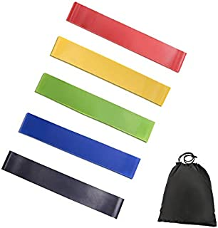 Resistance Band fitness 6Levels Latex Gym Strength Training Rubber Loops Bands Fitness CrossFit Equipment Yoga Exercise Pu...