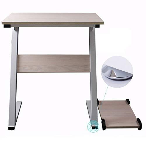 Wangczdz Przenośne biurko laptop stojąco biurko laptop wielofunkcyjny kreatywny blat drewniany (kolor: Rubber Wood, rozmiar: Foot Pad)