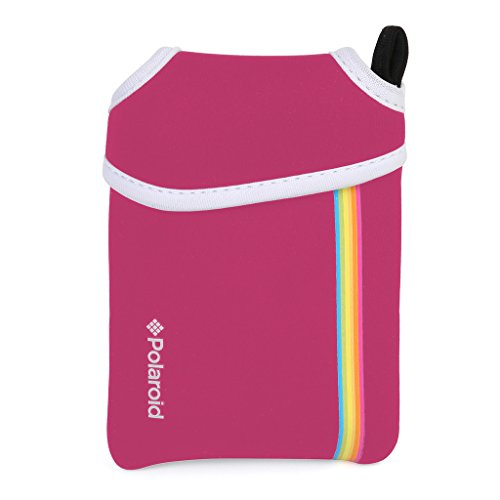 Zink Polaroid Neoprene Pouch for The Polaroid Snap & Snap Touch Instant Camera (Pink)