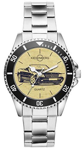 KIESENBERG Uhr - Geschenke für Mercedes Benz R129 Cabrio Oldtimer Fan 4192