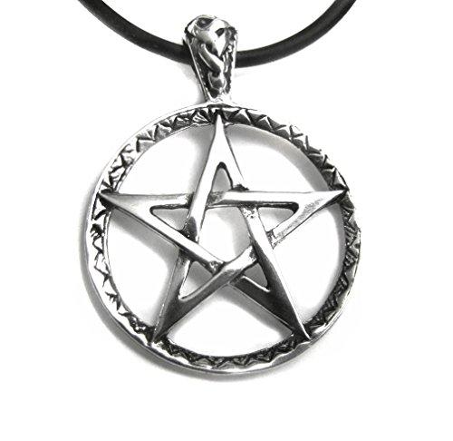 Anhänger Amulett Pentagramm 925 Sterling Silber