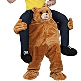 UBCM Ride On Teddy Costume Carry Ride On Me Bear Costume Halloween Party Fancy Dress (Teddy)