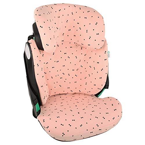 Fundas Para Sillas de Algodón Oeko-Tex para Silla de Coche Maxi Cosi Kore Funda Silla Garantiza la Comodidad de la Piel del Bebé y Ayuda a no Sudar