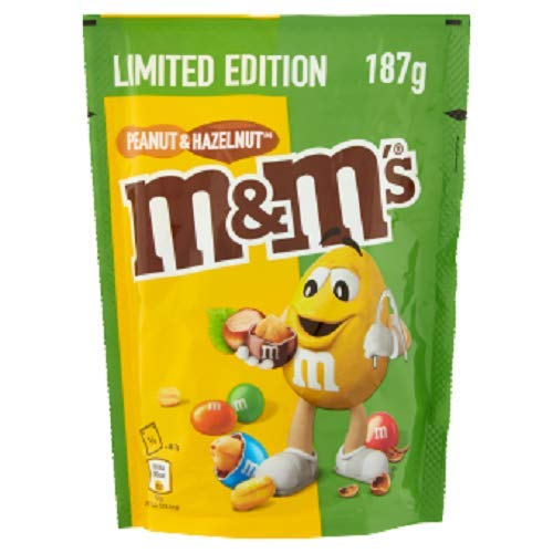 M&M's 9 Buste di M&Ms Peanut And Helzenut - 9 X 187 g