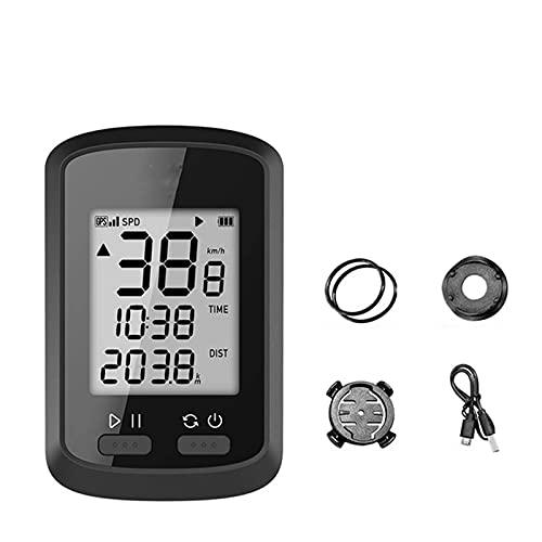YIQIFEI Bicicleta odómetro velocímetro inalámbrico bicicleta ordenador, impermeable bicicleta cuentakilómetros, conexión Bluetooth, Re(reloj de bicicleta)