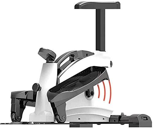 Mini Bicicleta de Ejercicio para Uso en el hogar Pedal multifunción para Perder Peso Equipo de Aptitud física Vida Delgada elíptica para Mujeres y Hombres