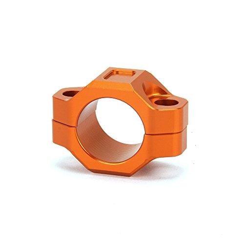 JFG Racing CNC Plaque de montage pour guidon de 2,22 cm Orange