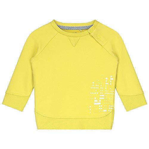 Prénatal Sudadera para bebé y niña, color amarillo limón amarillo limón. 6 mes