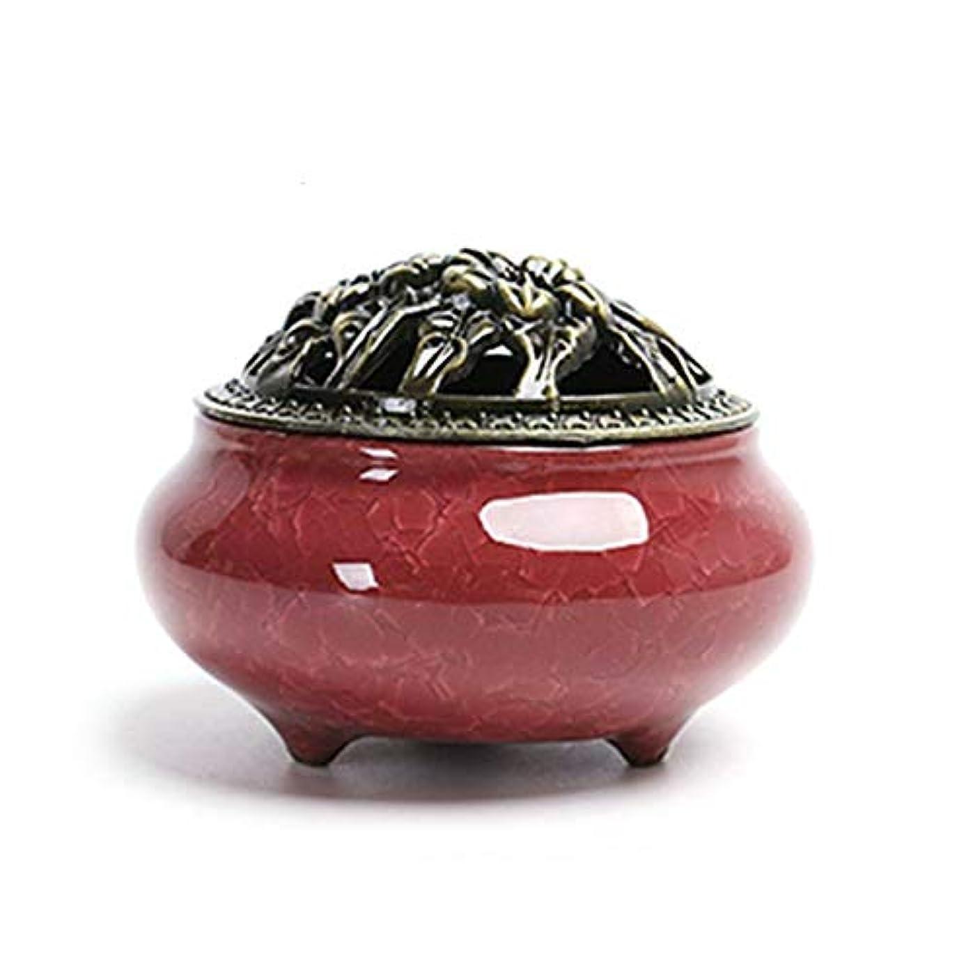 余計なクール早くセラミック 家庭用 アロマセラピー 炉 氷 クラッキング 窯 アロマセラピー 炉 フレグランス コーン コイル 香炉 真鍮 ひょうたん 香炉