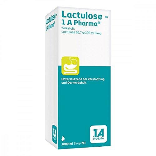 LACTULOSE-1A Pharma Sirup 1000 ml