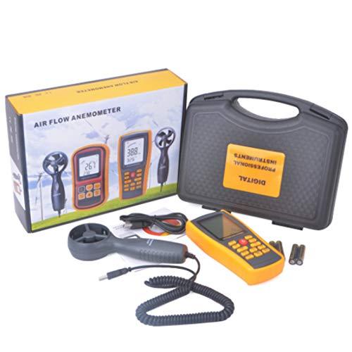 Digitale windsnelheidsmeter, digitaal, veelzijdig inzetbaar, GM8902 voor windsnelheid, barometrische druk, hoogte en windrichting