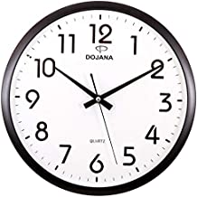 Dojana Wall Clock, DWG081-gold-white