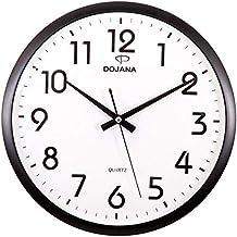 ساعة حائط من دوجانا, ابيض و بيج,  DWG081