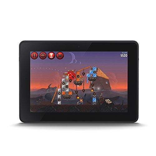 """Kindle Fire HDX 7"""" (17 cm) reacondicionado certificado, pantalla HDX, Wi-Fi, 64 GB - incluye ofertas especiales (3ª generación)"""