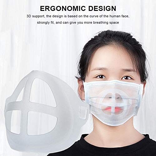 Best Deals! 3D Mask Bracket Mas-k Accessories Breathing Smoothly and Cool Mas-k Holder Breathable Va...