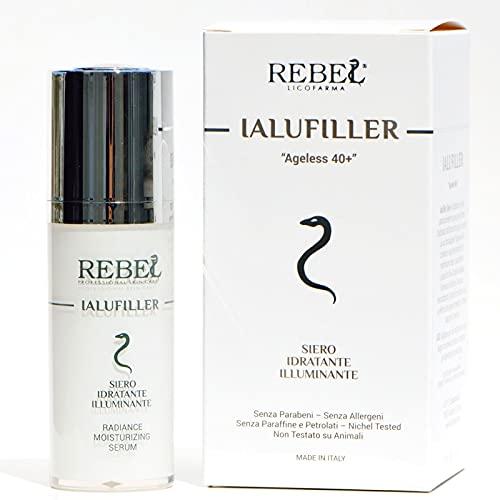 Ialufiller Siero lifting Antirughe, Rassodante, Idratante, Uniformante ad Effetto Botox Like Immediato
