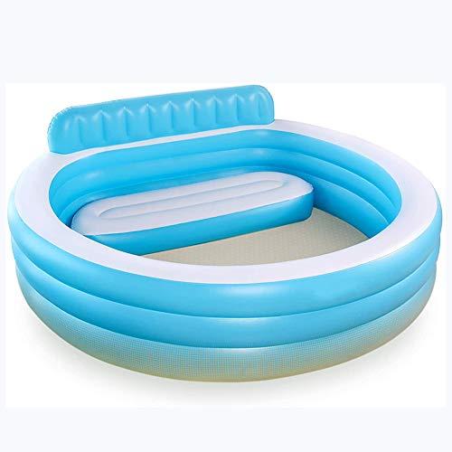 Piscina Hinchable Piscina Familiar Swim Center Automontable con Sillón Azul