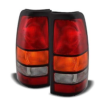 ACANII - For 2004-2006 GMC Sierra 1500 2500 3500 Truck Tail Lights Lamps 04 05 06 Left+Right