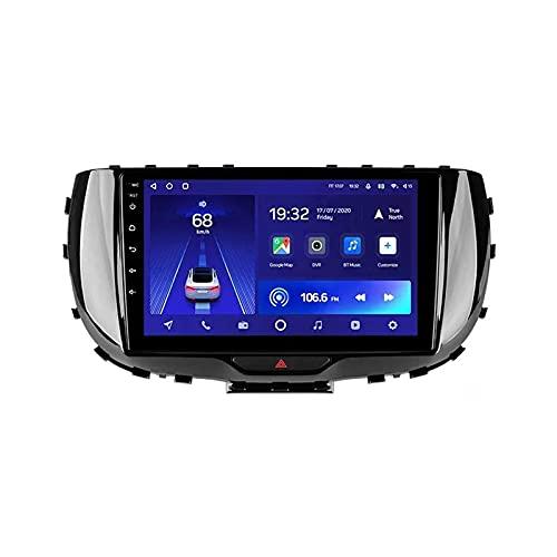 Radio estéreo para automóvil para Kia Soul SK3 2019-2020 Unidad Principal Navegación GPS con Pantalla táctil HD de 9 Pulgadas Reproductor Multimedia WiFi Bluetooth FM SWC MP5 Receptor de Video Mirror
