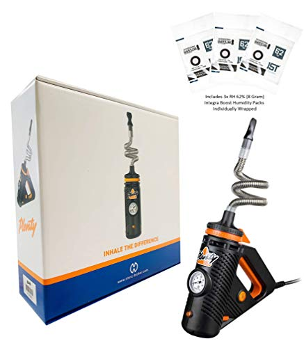 Storz N Bickel PLENTY Hot Air Convection Device Includes 3x 62% RH (8 Gram) Integra Boost Humidity Packs - Individually Wrapped