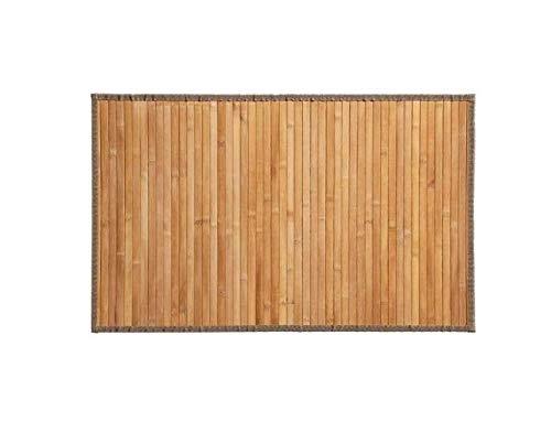 HERSIG Alfombra Estera de Bambu Natural 40x60cm (40X60natural)