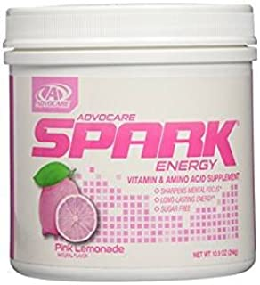 AdvoCare Spark Energy Drink Mix (All Flavors and Sizes) Canister or Pouches (Pink Lemonade, Canister)