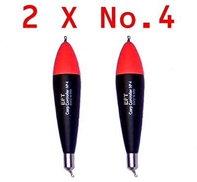 2 X No.4 CARP CONTROLLER FLOATS by JD SAMTIN
