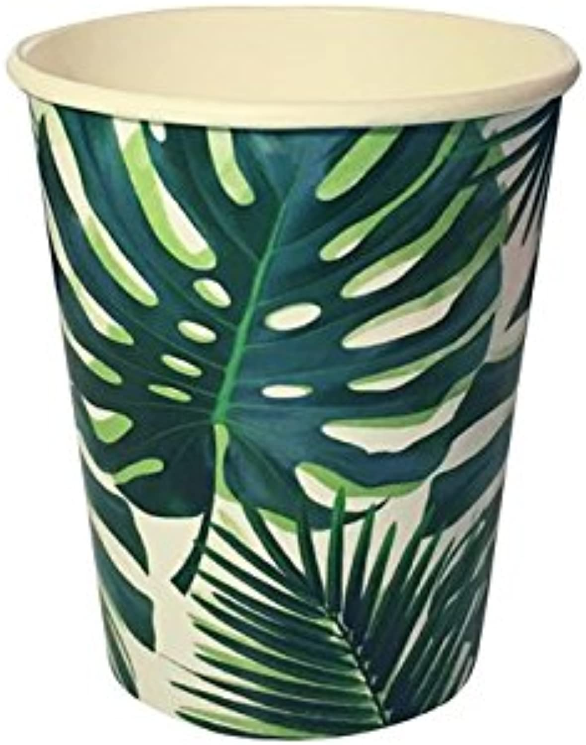Luau Party Hawaiian Theme Party Supplies Palm Paper Cups 9 oz. Set 16
