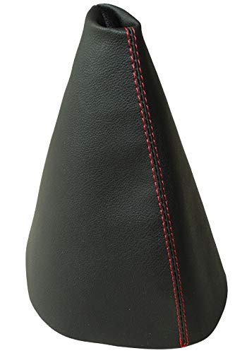 AERZETIX gris oscuro Funda para palanca de cambios de piel sint/ética con costuras de colores variables