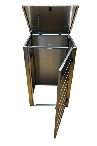Mülltonnenbox für eine 120 Liter Tonnen, Modell Eleganza Line - 3