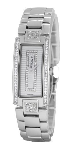 Raymond Omdat Watches dameshorloge Shine analoog kwarts leder 1500-ST2-42381