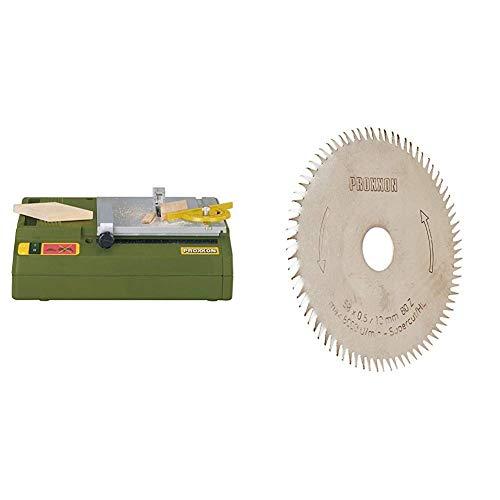Proxxon 2227006 - Sierra Circular De Banco Ks-230 + Proxxon 2228014 - Hoja Sierra Circular