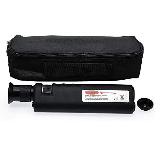 Cestbon Fiberglas-Mikroskop Kabel Inspektionsmikroskop 400-facher Vergrößerung Inklusive Schutzhülle,Schwarz