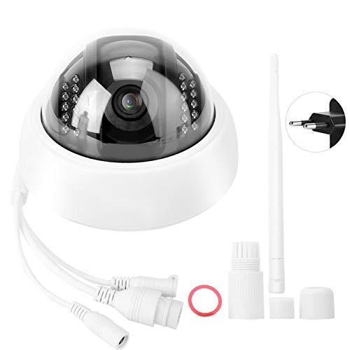 Yeelur Cámara de Seguridad, cámara de Monitor, Alarma Inteligente WiFi, visión Nocturna a Prueba de explosiones, inalámbrica para(European regulations)