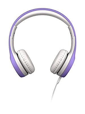 LilGadgets Connect+ Premium Volume Limited Wired Headphones with SharePort for Children - Purple by LilGadgets