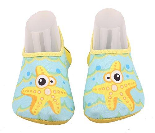 ABClothing Little Kids & Kleinkind Wasser Schuhe Starfish für Jungen & Mädchen & Kleinkind US 10.5-11.5M