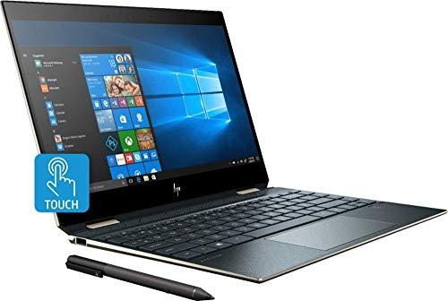 2019 HP Spectre x360 13t Gem Cut with 13.3' 2 in 1(i7-8565U, 16GB, 512GB PCI NVMe SSD, FHD IR Cam, HP Pen, 3 Yrs McAfee Internet Security, Windows 10 PRO Upgrade, HP Warranty, Poseidon Blue