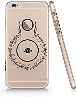 Sauron Eye Lord Of The Ring Clear Transparent Plastic Phone Case for Iphone 6 6s_ SUPERTRAMPshop (iphone 6)