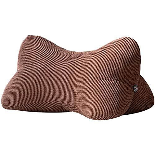 MaxTom Cuscini Decorativi Cuscino a Triangolo Cuscino terapeutico con Zeppa Aiuta a Dormire Cuscino Lombare Rimovibile e Lavabile Cuscino per Divano Tatami per Camera da Letto