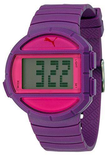PUMA TIME Digitale Quarzo Orologio da Polso PU910892005_Purple