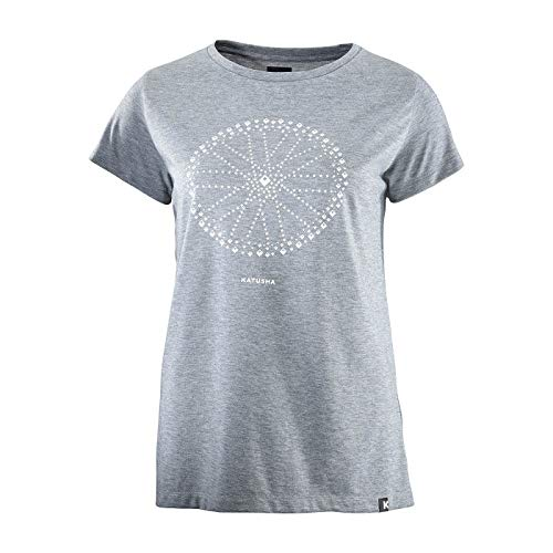 KATUSHA Damen DRI Release T-Shirt, Iron Gate, XL