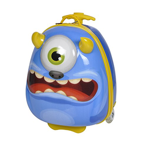Knorrtoys 14511 - Bouncie Trolley 'Monster' blueberry