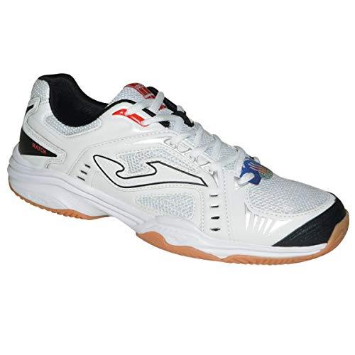 Zapatillas Tenis JOMA Hombre T.Mach White Clay T.MATS-802-42 (EU) 8.5 (USA), Blanco/Lima