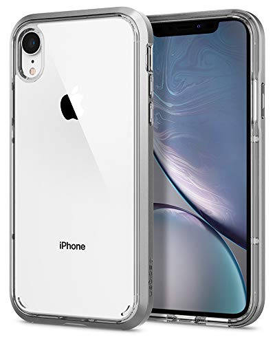 Spigen Neo Hybrid Crystal progettato per Apple iPhone XR (2018) - Argento satinato
