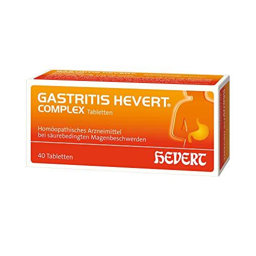 Gastritis Hevert complex Tabletten, 40 St. Tabletten