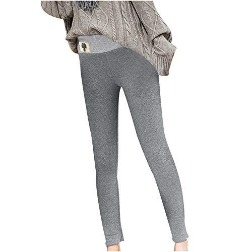 pantaloni donna xl Eauptffy Leggings da donna per autunno e inverno