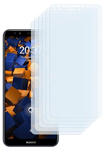 mumbi Schutzfolie kompatibel mit Huawei Y7 2018 Folie klar, Bildschirmschutzfolie (6X)