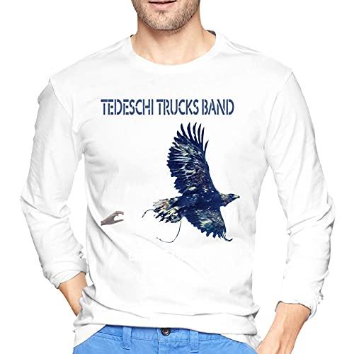 Tedeschi Trucks Band Let Me Get BYT Shirt Man s Long Sleeve Round Neck Comfortable Cotton Shirts White